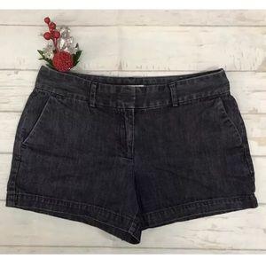 Ann Taylor Loft Women's Dark Denim Shorts
